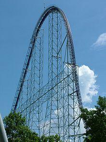 Millenium Force Coaster at Cedar Point Park