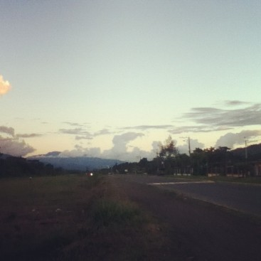 The view from my evening run.