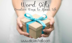 Word gift with website