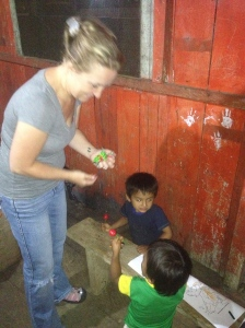 My joy in the jungle: Friday night kids services in a Shuar village