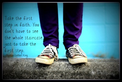 MLK First Step quote
